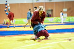 Free Sambo Or Self-defense Without Weapons. Competitions Girls... ... Stock Image - 40249391