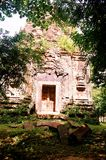 SAMBO PREI KUH  temples world heritage capital of Chenla located in Kampong thom province cambodia. Sambo Preh Kuh was once the capital of Chenla Royalty Free Stock Images