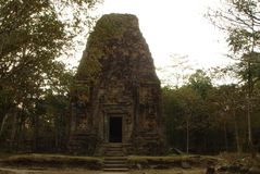 SAMBO PREI KUH  temples world heritage capital of Chenla located in Kampong thom province cambodia. Sambo Preh Kuh was once the capital of Chenla Royalty Free Stock Image