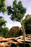 SAMBO PREI KUH  temples world heritage capital of Chenla located in Kampong thom province cambodia. Sambo Preh Kuh was once the capital of Chenla Stock Images