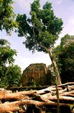 SAMBO PREI KUH  temples world heritage in cambodia. Sambo Preh Kuh was once the capital of Chenla Stock Photo