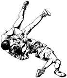 Sambo wrestling Stock Image