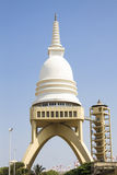 Sambodhi chaithya Buddhist Temple in Colombo, Sri Lanka Stock Image