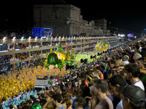Sambodrome at Rio Carnival. Royalty Free Stock Photography