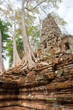 Sambor prei kruk, Kompong Thom, Cambodia. Old Temple in the jungle near siem reap Stock Images