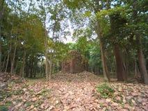 Sambor Prei Kuk w Kambodża Zdjęcie Stock