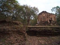 Sambor Prei Kuk w Kambodża Zdjęcia Royalty Free