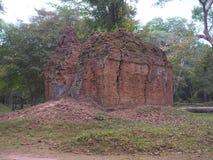 Sambor Prei Kuk w Kambodża Obraz Stock