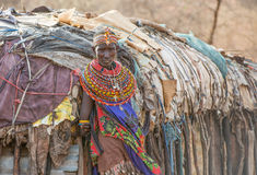 Samboru kvinna Fotografering för Bildbyråer