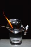 Sambuca flamejante Imagens de Stock Royalty Free