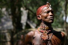 samburu человека Кении Стоковое фото RF