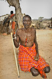 Samburu Man, Kenya Africa Royalty Free Stock Photos