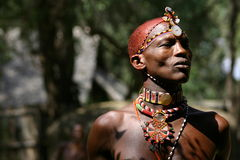 Samburu Man, Samburu Kenya Royalty Free Stock Photo
