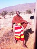 Samburu Moran в Кении стоковое фото rf