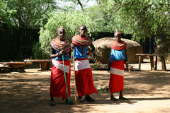 Samburu tribe, Kenya Stock Photo