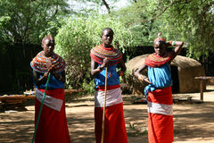 Samburu tribe, Kenya Stock Photos