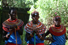 Samburu tribe, Kenya Royalty Free Stock Images