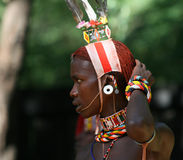 Samburu tribe, Kenya Royalty Free Stock Image