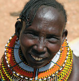 Samburu woman Royalty Free Stock Photo
