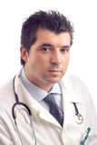 samce portretów doktor young Obraz Stock