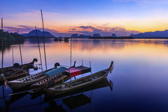 Samchong-tai visserijdorp Royalty-vrije Stock Foto's