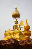 Samdach Chounnat statute in Cambodia Independence Day Royal Palace Silver Pagoda Stock Photos