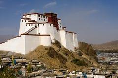 Samdrubtse Dzong Fort Stock Photo