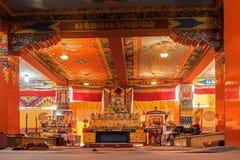 Samdruptse monaster, ogromny buddyjski monaster w Ravangla, Sikkim Obraz Stock