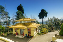 Samdruptse monaster, Sikkim, India Fotografia Royalty Free