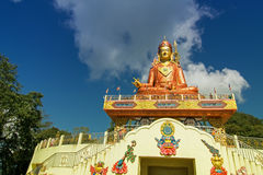 Samdruptse statue , a huge buddhist memorial statue in Sikkim. Stock Images