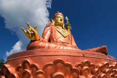 Samdruptse statue , a huge buddhist memorial statue in Sikkim. Stock Images