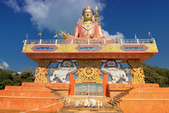 Samdruptse statue , a huge buddhist memorial statue in Sikkim. Royalty Free Stock Images