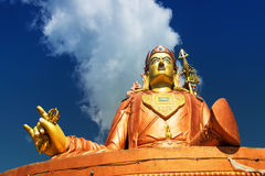 Samdruptse statue , a huge buddhist memorial statue in Sikkim. Stock Photo