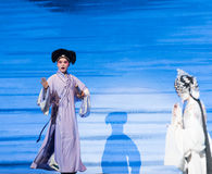 "The same boat-Kunqu Opera""Madame White Snake"" Stock Photos"