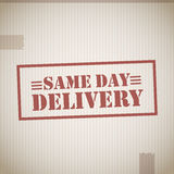 Same day delivery Stock Photography