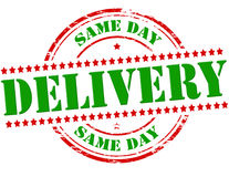Same day delivery Stock Images
