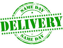 Same day delivery Stock Photos