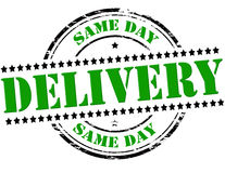 Same day delivery Royalty Free Stock Photo
