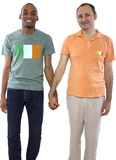 Same Sex Couple in Ireland Stock Images