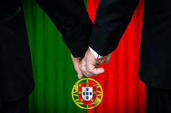Same-Sex Marriage in Portugal Royalty Free Stock Photography