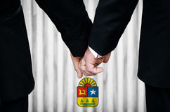 Same-Sex Marriage in Quintana Roo Royalty Free Stock Photo