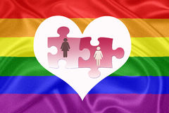 Same - sex marriages Royalty Free Stock Image