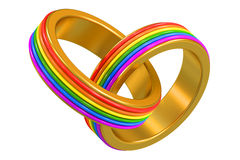 Same-sex marriages concept Stock Image