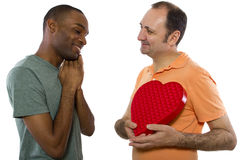 Same Sex Valentines Stock Photo