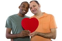 Same Sex Valentines Stock Photos