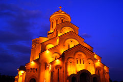 Sameba cathedral Royalty Free Stock Photography