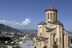 Sameba  cathedral Royalty Free Stock Image