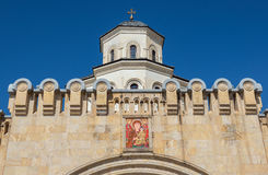 Sameba cathedral in Tbilisi Stock Photography