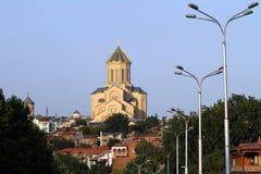 Sameba cathedral in Tbilisi, Georgia Royalty Free Stock Photos