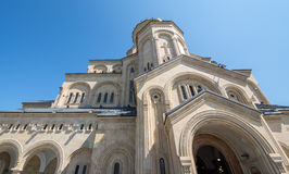 Sameba cathedral in Tbilisi Royalty Free Stock Photography